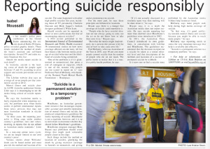 Published in the Western Independent, September issue 2014.